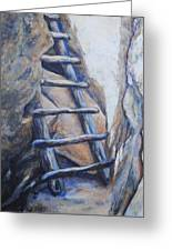 Cliff Palace Ladder Greeting Card