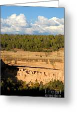 Cliff Palace Landscape Greeting Card