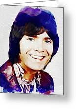 Cliff Richard, Music Legend Greeting Card