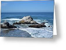 Cliffhouse Rocks Greeting Card