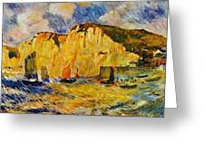 Cliffs 1883 Greeting Card