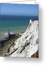 Cliffs At Beachy Head East Sussex Greeting Card
