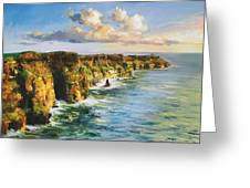Cliffs Of Mohar 2 Greeting Card