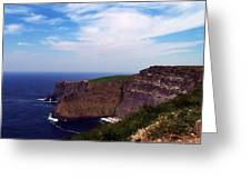 Cliffs Of Moher Aill Na Searrach Ireland Greeting Card by Teresa Mucha