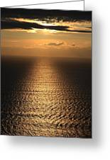 Cliffs Of Moher Sunset Co. Clare Ireland Greeting Card