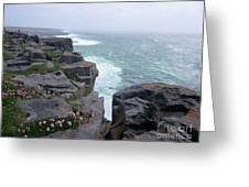 Cliffs Of The Aran Islands 4 Greeting Card