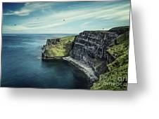 Cliffside Greeting Card