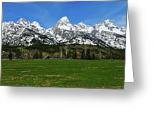 Climbers Ranch In Spring Greeting Card