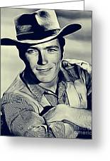 Clint Eastwood, Actor/director Greeting Card