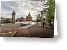 Clinton Square Greeting Card