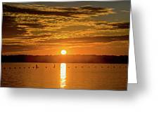Clinton Sunset 1 Greeting Card