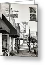 Clinton Tennessee Sepia Greeting Card