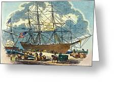 Clipper: Flying Cloud, 1851 Greeting Card