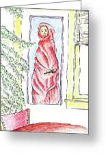 Cloak And Dagger Greeting Card