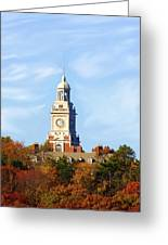 Clock Tower 2 Greeting Card
