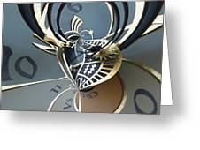 Clockface 11 Greeting Card