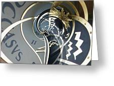 Clockface 4 Greeting Card