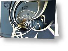 Clockface1  Greeting Card