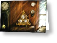 Clockmaker - Clocks Greeting Card