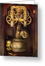 Clockmaker - The Mechanism  Greeting Card