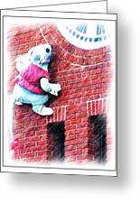Clocktower Mouse Greeting Card