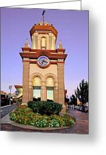Clocktower Greeting Card