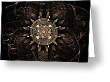 Clockwork Greeting Card by John Edwards