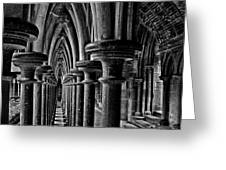 Cloister Colonnade Greeting Card