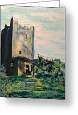 Clonony Castle Greeting Card