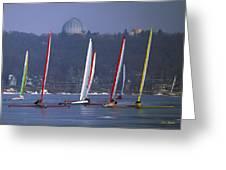 Close Encounters - Lake Geneva Wisconsin Greeting Card