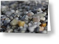 Close Up Of Rocks Greeting Card