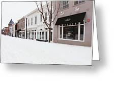 Closed For Snow Greeting Card