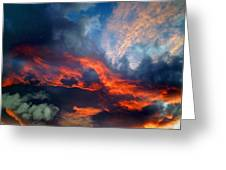 Cloud Abstract 1 Greeting Card