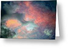 Cloud Abstract 2 Greeting Card
