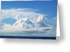 Cloud Greeting Card by Barbara Marcus