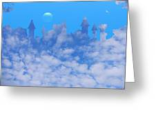 Cloud Castle Greeting Card