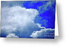 Cloud Commotion Greeting Card