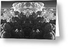 Cloud Explosion Greeting Card