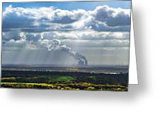 Cloud Factory Greeting Card