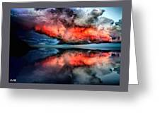 Cloud Fantasia Reflected L A S Greeting Card