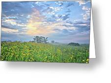 Cloud Filled Morning 2 Greeting Card