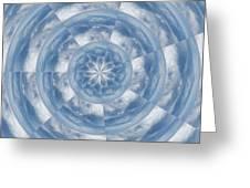 Cloud Fractal Greeting Card