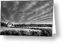 Cloud Illusion Greeting Card by Elisabeth Van Eyken