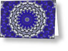 Cloud Kaleidoscope Greeting Card
