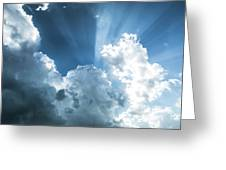 Cloud Light  Greeting Card