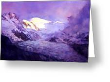 Cloud Peak  Greeting Card