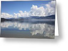 Cloud Reflection On Priest Lake Greeting Card
