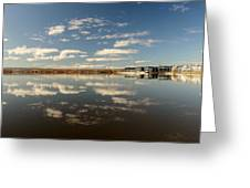Cloud Reflections Greeting Card