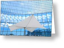 Cloud Reflections - Revel Hotel Greeting Card