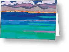 Cloud Sea View Greeting Card